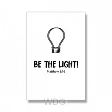 Kaart Be the light