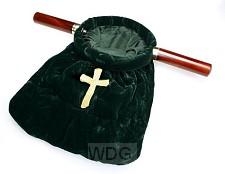 Collectezak groen kruis