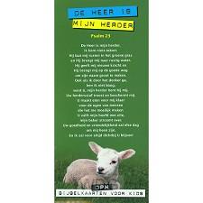 Kaart Heer is mijn Herder