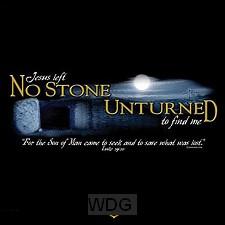 Jesus -  No stone unturned