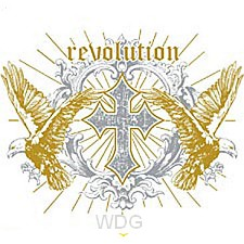 Revolution - Cross and eagles