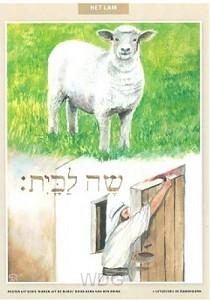 Poster assor. 32 dieren uit de bijbel