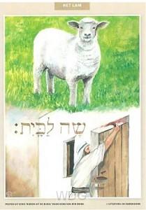32 delig miniposterset dieren u d bijbel