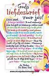 Kaart kinder Gods liefdesbrief voor jou
