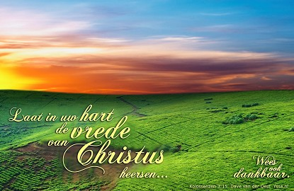De vrede van Christus