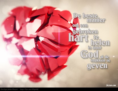 God heelt je gebroken hart