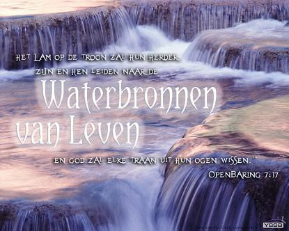 Waterbronnen van leven