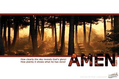 De majesteit van God