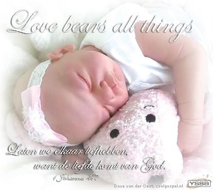 Liefde draagt alles