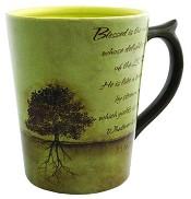 Planted Tree - Psalm 1:1-3 : Mug - 350 ml