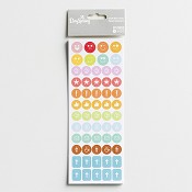 Stickers - Icons - 290 pcs : Illustrated Faith - Planner accessory