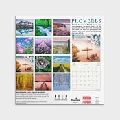 Proverbs (Slightly damaged) : 2020 Wall Calendar