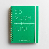 So Much Stress Fun : 2020 Weekly Planner