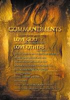 Christelijke poster : 10 commandments