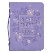 Plans to give you Hope - LuxLeather : Biblecover - Large - 168 x 241 x 50 mm