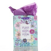 Plans to give you hope - 200x120x245 mm : Gift bag - Medium