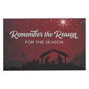 Remember the reason - Christmas [ 25 stuks ] : Pass around card - 5 x 8 cm