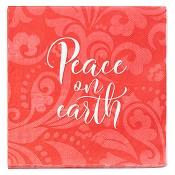Peace on earth - 20 pcs : Paper napkins - 165 x 165 mm