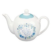 A sweet friendship refreshes the soul : Tea pot - 900 ml