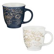 A beautiful morning - Set of 2 mugs : Mug set - 414 ml each