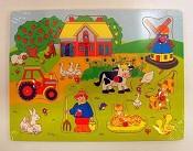 2 : Puzzel boerderij [ 2 stuks ]