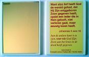 2 : Spiegeltje met tekst Joh 3:16 [ 50 stuks ] : johannes 3 vers 16