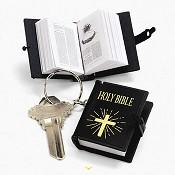 Sleutelhanger Bijbeltje : Bijbel Sleutelhanger