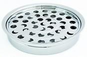 Communion tray 40 holes silver : Communionware