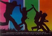 prentbriefKaart 'Laten wij met vrijmoedigheid' [ 12 stuks ] : christelijke kaart