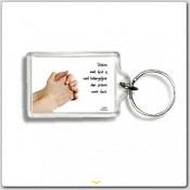 sleutelhanger 'Praten met God' [ 3 stuks ]