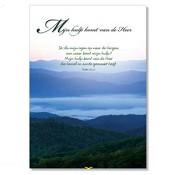 Poster 'Mijn hulp komt van de Heer' [ 3 stuks ] : christelijke miniposter