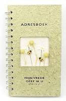Adresboek : Adresboek luxe mijn vrede geef ik u