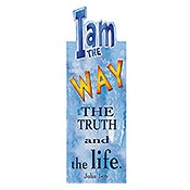 I Am The Way : Magnetic Bookmark - 4x9,5cm