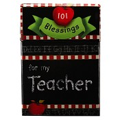101 Blessings For My Teacher : Boxes of blessings - 50 cards