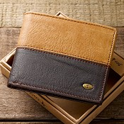Cross - With Coin Pocket : Genuine Leather Wallet