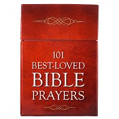 101 Best-loved Bible Prayers : Boxes of blessings - 50 cards