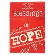 101 blessings of Hope : Boxes of blessings - 50 cards