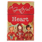 A Grateful Heart : Boxes of blessings - 50 cards