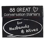 88 conversation starters Husbands Wives : Conversation starter box