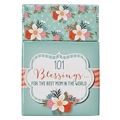 101 Blessings for the best mom : Boxes of blessings - 50 cards