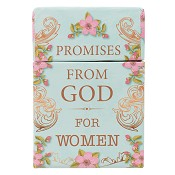 Promises from God for women : Boxes of blessings - 50 cards