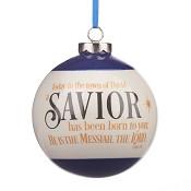 Saviour - Ball in giftbox : Christmas ornament