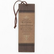 Be strong and courageous : Pagemarker - LuxLeather