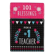 101 Blessings for a Nr 1 Teacher : Boxes of blessings - 50 cards