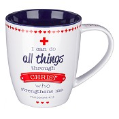 A cheerful heart is a good medicine : Mug - 390 ml