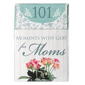 101 moments with God for moms : Boxes of blessings - 50 cards