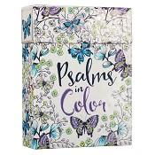 Psalms in Color : Kleurkaarten - Boxed Coloring Cards