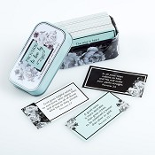 Proverbs to live by : Promise cards in tin