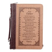 Our Father - Large - LuxLeather : Biblecover - Booksize 168 x 241 x 50 mm
