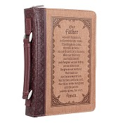 Our Father - Medium - LuxLeather : Biblecover - Booksize 156 x 224 x 40 mm